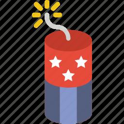 america, celebration, festivity, firecracker, firework, holiday icon
