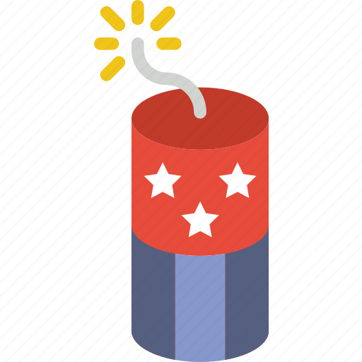 america, celebration, festivity, firecracker, firework, holiday icon