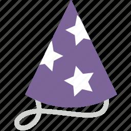 birthday, celebration, festivity, hat, holiday, party icon