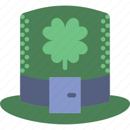 celebration, festivity, green, hat, holiday, ireland, leprechaun icon