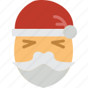 beard, celebration, christmas, festivity, holiday, santa icon