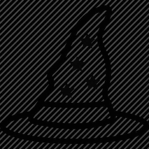 celebration, festivity, halloween, hat, holiday, witch, wizard icon