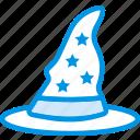celebration, festivity, halloween, hat, holiday, witch, wizard