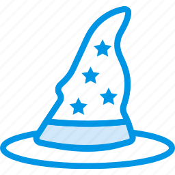 celebration, festivity, halloween, hat, holiday, witch, wizard icon