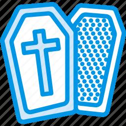 celebration, coffin, dead, festivity, halloween, holiday icon