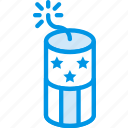 celebration, festivity, firecracker, firework, holiday icon