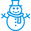 celebration, christmas, festivity, holiday, snow, snowman, winter icon