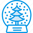 festivity, globe, snow, holiday, christmas, celebration