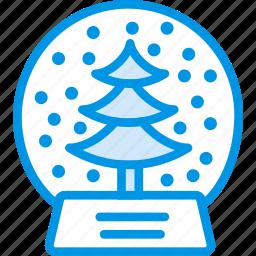 celebration, christmas, festivity, globe, holiday, snow icon