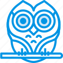 celebration, festivity, halloween, holiday, owl icon