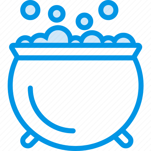 bubbling, cauldron, celebration, festivity, holiday, witch icon