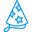 celebration, festivity, hat, holiday, party icon
