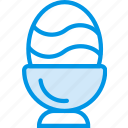 celebration, dinner, easter, egg, festivity, holiday icon