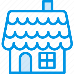 celebration, christmas, festivity, gingerbread, holiday, house, winter icon