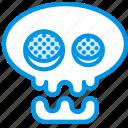 festivity, skeleton, skull, halloween, holiday, celebration