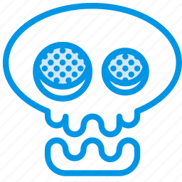 celebration, festivity, halloween, holiday, skeleton, skull icon
