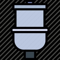 belongings, furniture, households, toilet icon