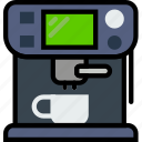 belongings, esspresso, furniture, households, machine icon