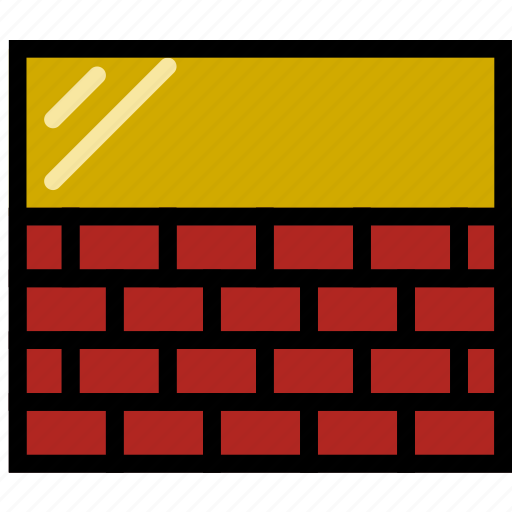 belongings, furniture, households, wall icon