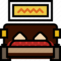 belongings, dorm, furniture, households icon
