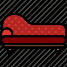 belongings, furniture, households, roman, sofa icon