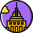 cartoony, empire, state icon