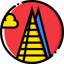 cartoony, shard icon
