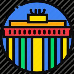 brandemburg, cartoony icon