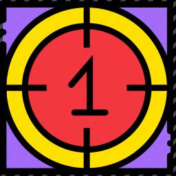 cinema, countdown, film, movie, video icon