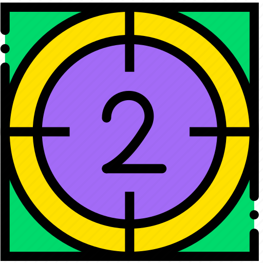 cinema, countdown, film, movie, video icon