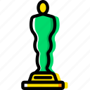 cinema, film, movie, oscar, video icon