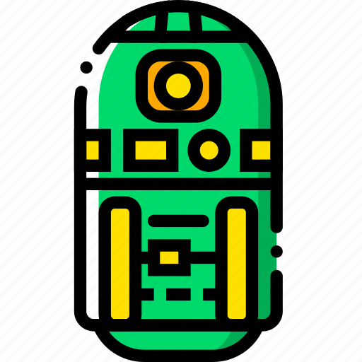 cinema, film, movie, r2, video icon