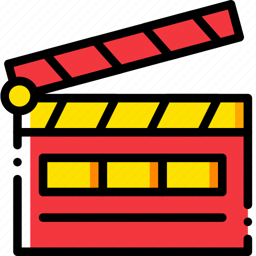 action, cinema, film, movie, video icon
