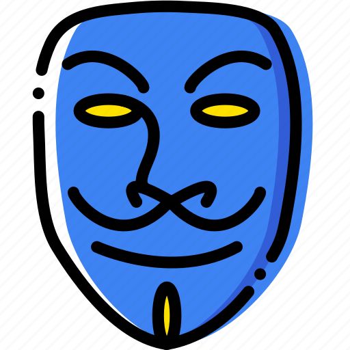 cinema, film, movie, v, vendetta, video icon