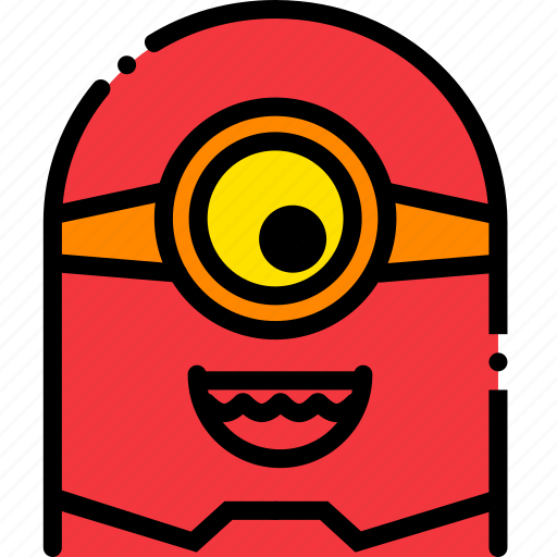 cinema, film, minion, movie, video icon