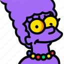 cinema, film, marge, movie, video icon
