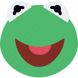 cinema, film, frog, movie, muppets, puppet icon