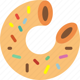 cinema, donut, film, movie, simpsons icon
