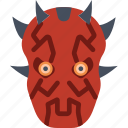 cinema, film, maul, movie, sith, star, wars icon