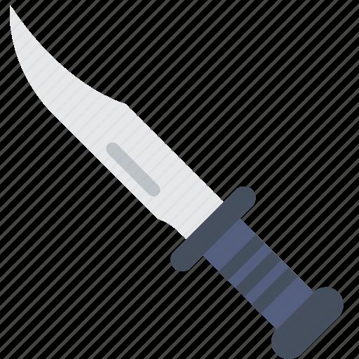cinema, film, knife, movie, rambo, stab icon