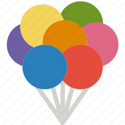 balloon, cinema, film, house, movie icon