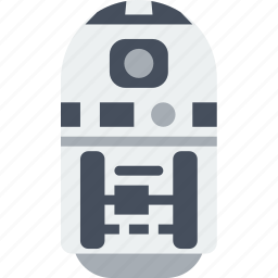 cinema, film, movie, robot, star, wars icon