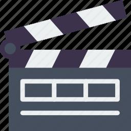 action, cinema, double, film, movie, set icon