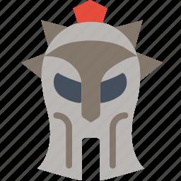 arena, cinema, film, gladiator, helmet, movie icon