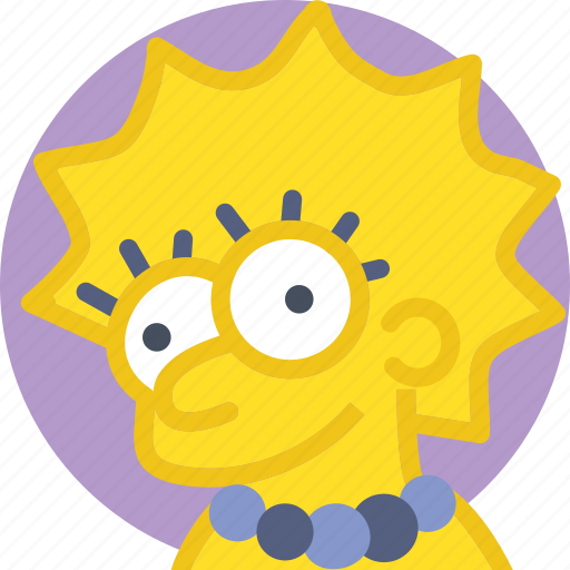 cinema, film, lisa, movie, simpsons icon
