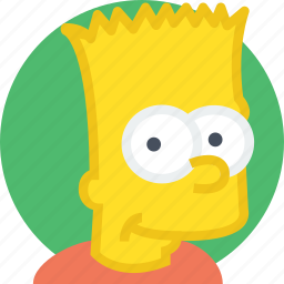 bart, character, cinema, film, movie, simpsons icon