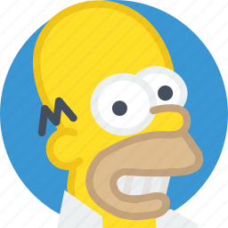 character, cinema, film, homer, movie, simpsons icon