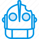 cinema, film, giant, iron, movie, robot icon