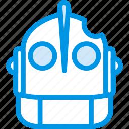 cinema, film, giant, iron, movie, robot icon