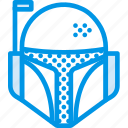 bounty, cinema, film, helmet, movie, star, wars icon
